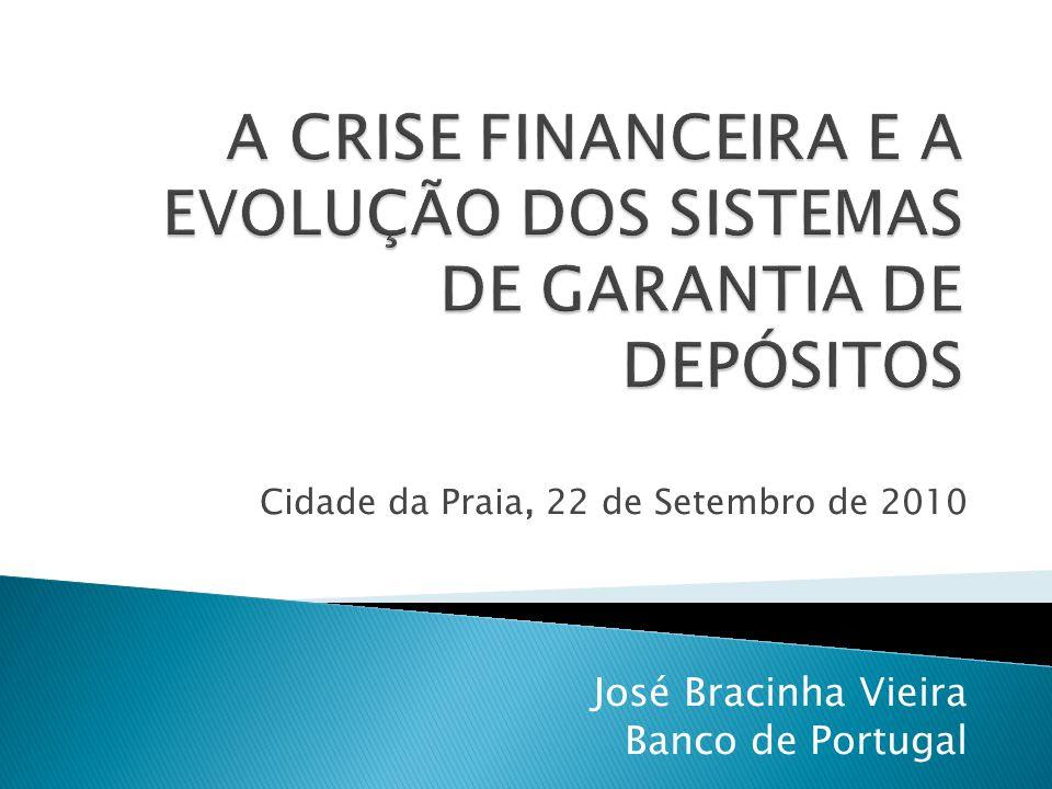 Cidade da Praia, 22 de Setembro de 2010 José Bracinha Vieira Banco de Portugal