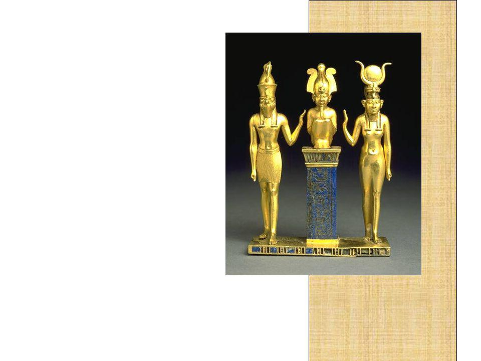 Igualmente importantes foram as obras de ourivesaria, cuja maestria e beleza são suficientes para testemunhar a elegância e a ostentação das cortes egípcias.