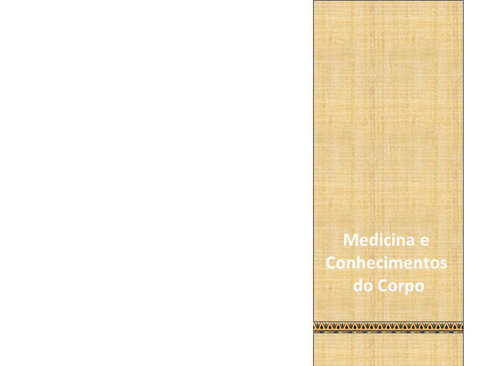 Há mais ou menos 3000 anos a.C., no Antigo Egito, os médicos já tinham uma noção interna do corpo humano.