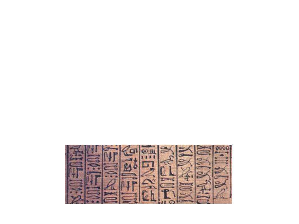 Durante quase quatro mil anos, os hieróglifos reinaram soberanos a sombra dos faraós.