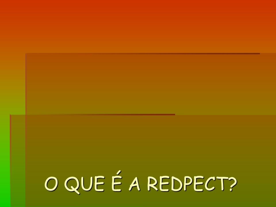 O QUE É A REDPECT?