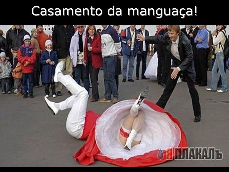 Casamento da manguaça!