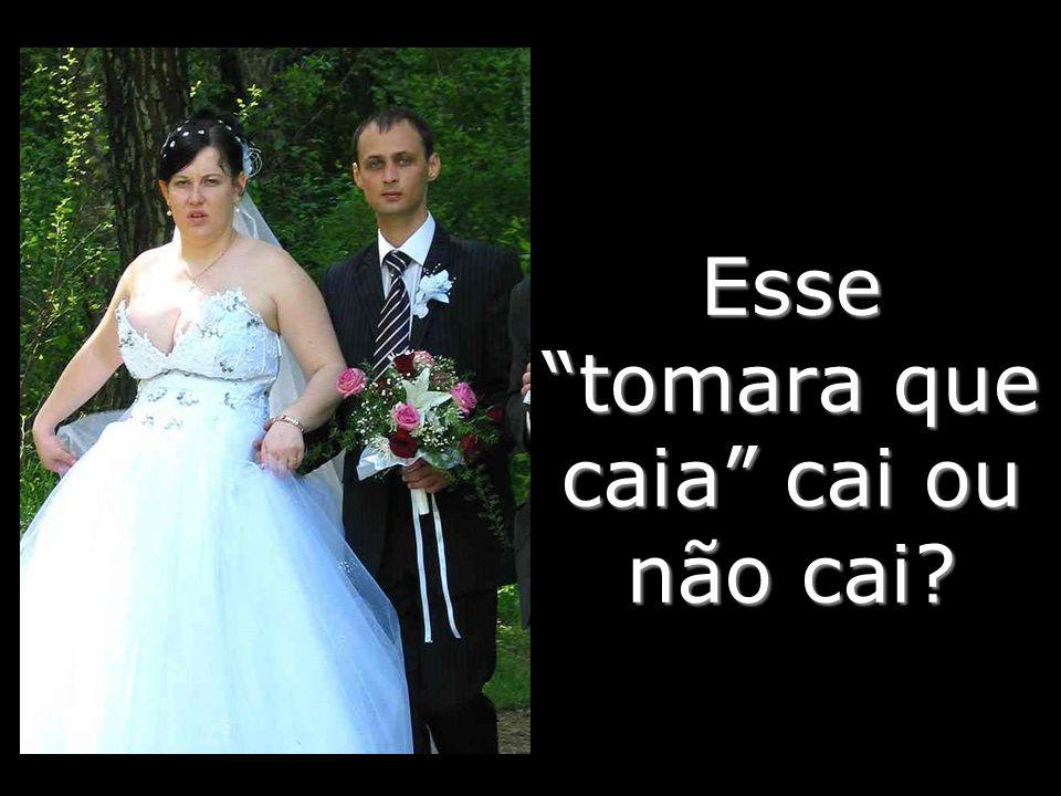 A noiva é fofinha, o noivo… peraí, cadê o noivo?