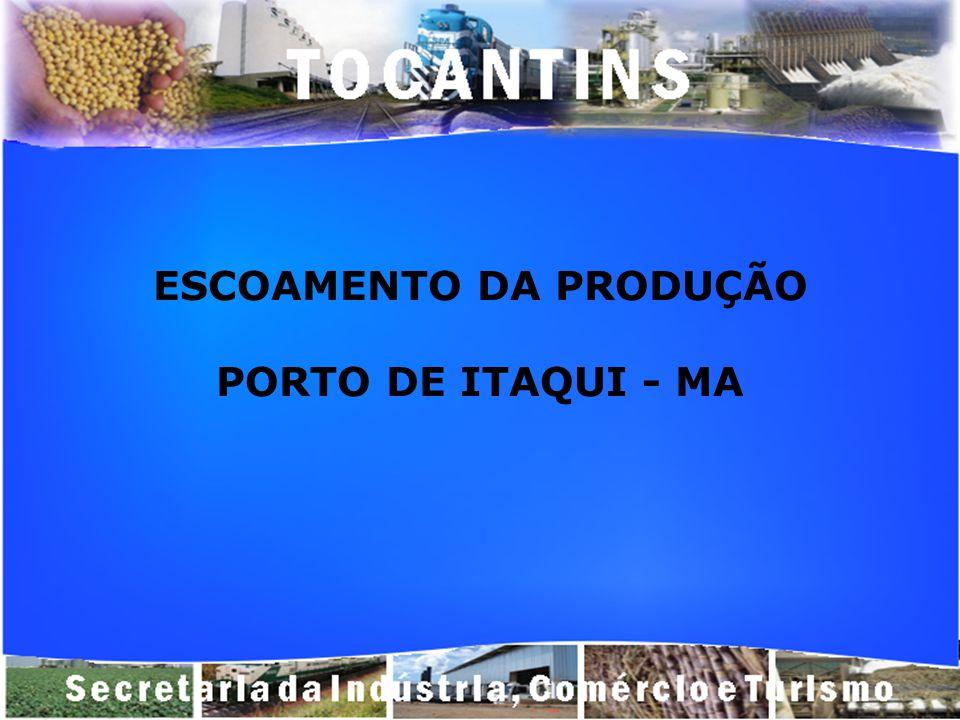 ESCOAMENTO DA PRODUÇÃO PORTO DE ITAQUI - MA