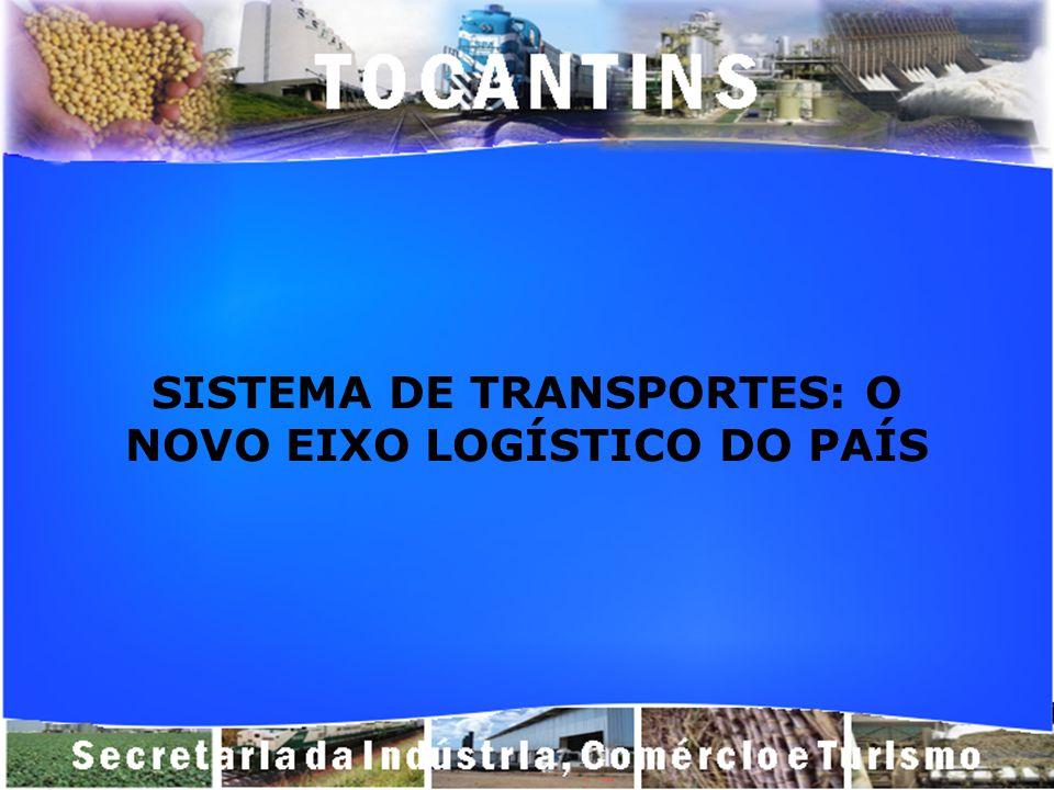 SISTEMA DE TRANSPORTES: O NOVO EIXO LOGÍSTICO DO PAÍS