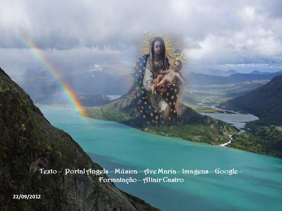 O próprio Cristo quer que esta misteriosa e sublime intimidade com Ele se realize através da Eucaristia. Outra característica espiritual de Maria é a