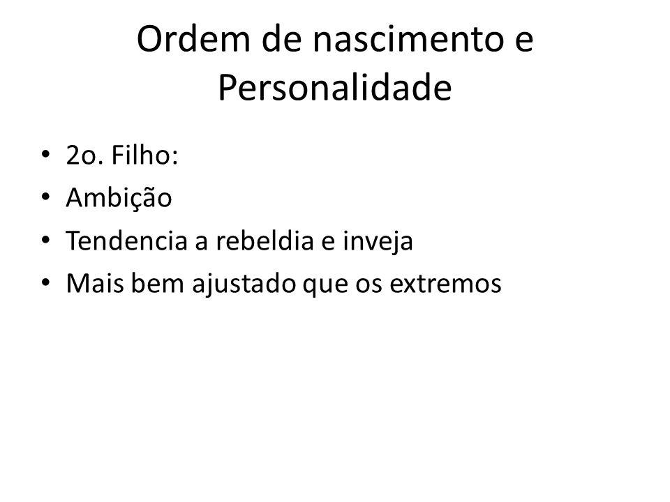 Ordem de nascimento e Personalidade 2o.
