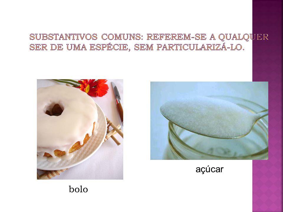 bolo açúcar