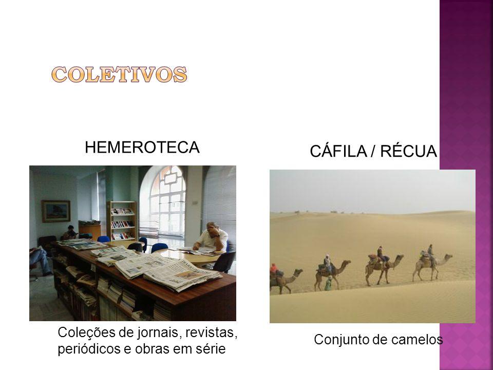 Coleções de jornais, revistas, periódicos e obras em série HEMEROTECA CÁFILA / RÉCUA Conjunto de camelos