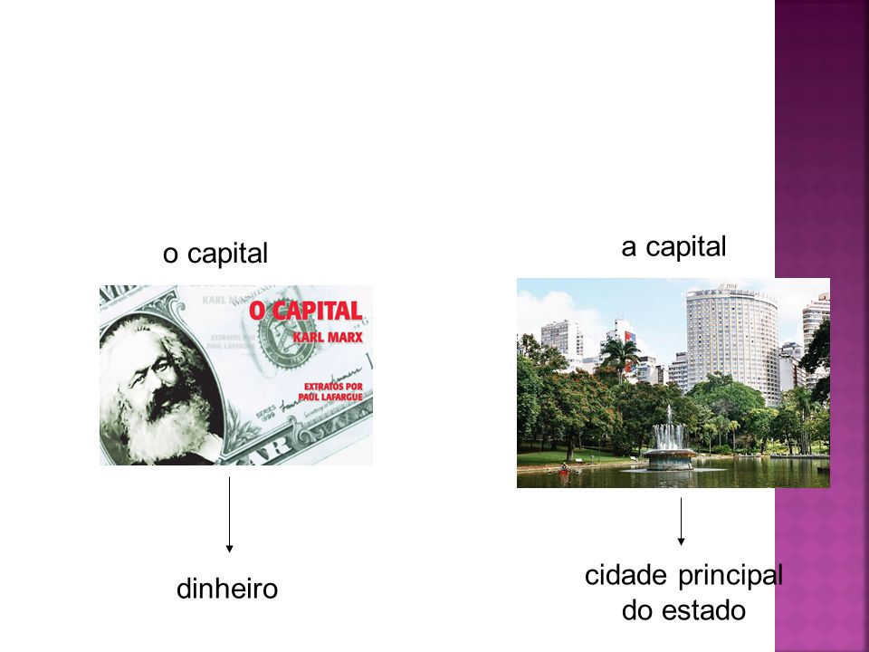 o capital a capital dinheiro cidade principal do estado