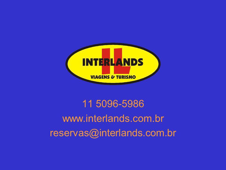 11 5096-5986 www.interlands.com.br reservas@interlands.com.br