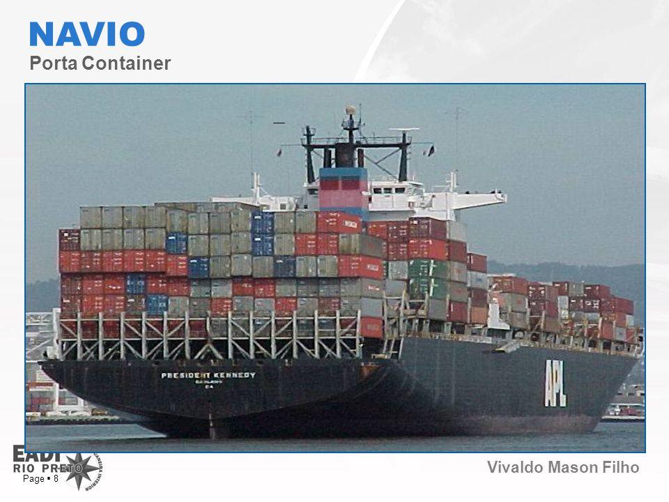 Vivaldo Mason Filho Page 8 Porta Container NAVIO