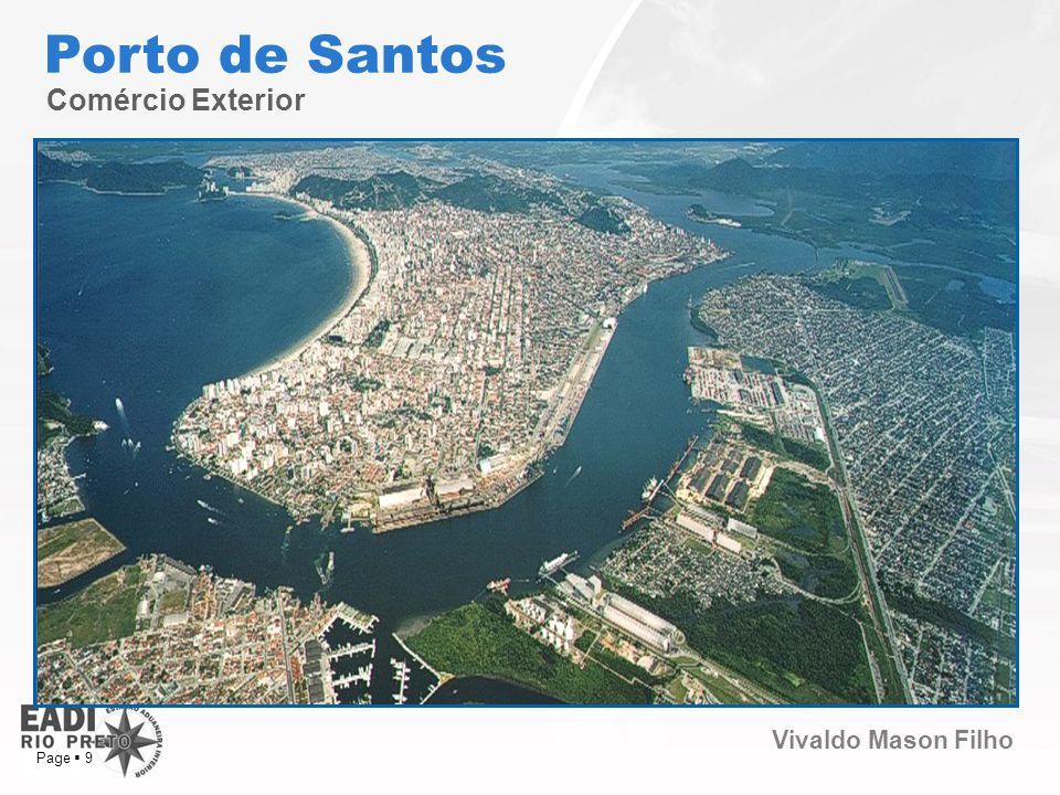 Vivaldo Mason Filho Page 9 Comércio Exterior Porto de Santos