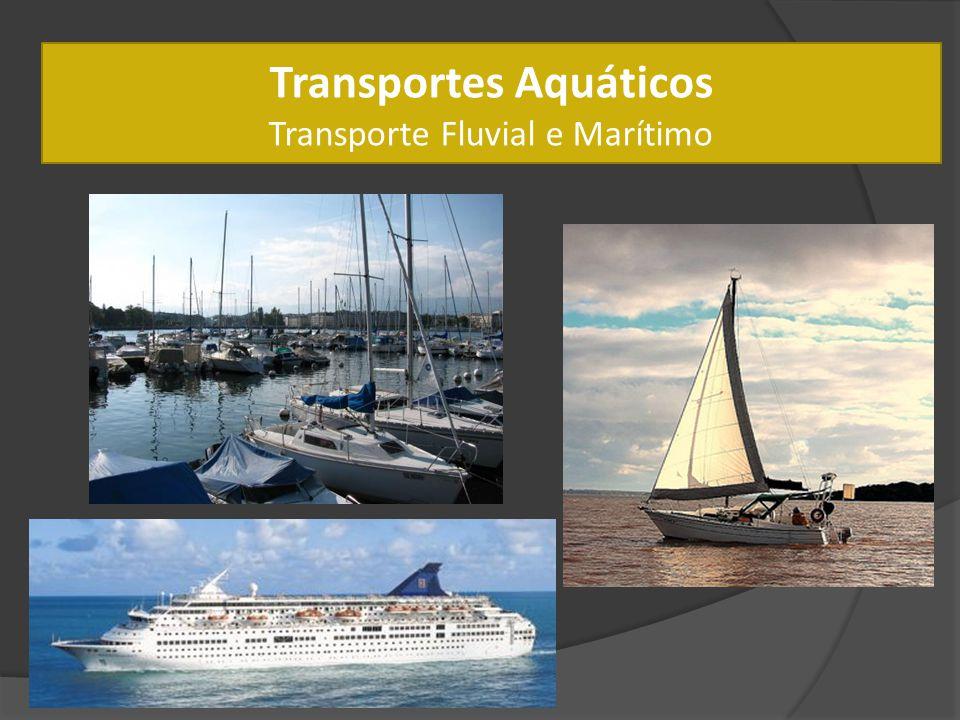 Transportes Aquáticos Transporte Fluvial e Marítimo