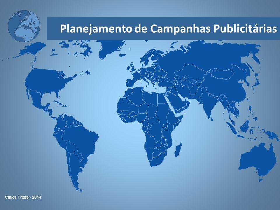 Planejamento de Campanhas Publicitárias Carlos Freire - 2014 Com relação às notas: Pareto: 80-20 Prova vai valer 8,0 e a nota da Agex 2,0