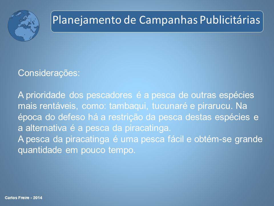 Metodologia 4P Haroldo de Castro Planejamento de Campanhas Publicitárias Carlos Freire - 2014