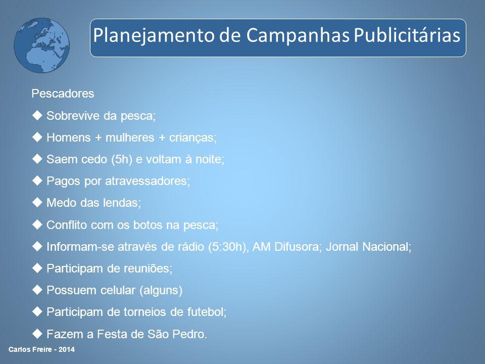 3º P – Produtos Produtos são as peças/ações que serão produzidas para levar a mensagem até os públicos- alvo.