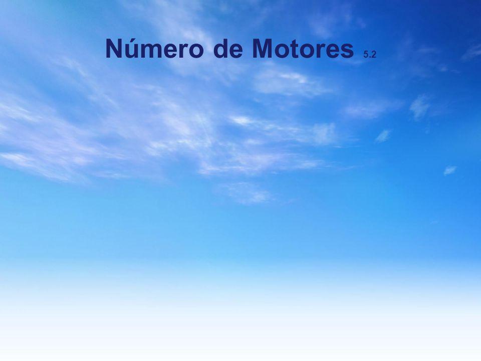 Número de Motores 5.2