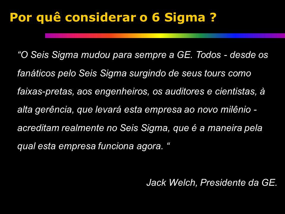 O Seis Sigma mudou para sempre a GE.