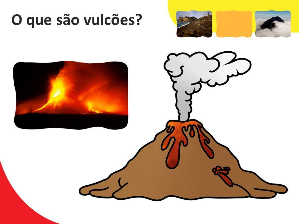 O que são vulcões?