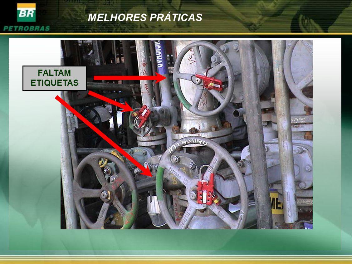 MELHORES PRÁTICAS FALTAM ETIQUETAS