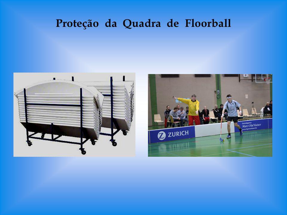 Proteção da Quadra de Floorball