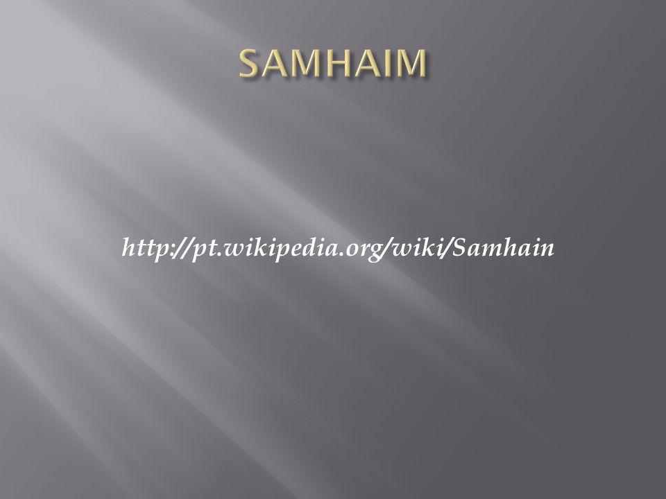 O fé-fiada, o nevoeiro mágico que deixava as pessoas invisiveis, dispersava no Samhain e os elfos podiam ser vistos pelos humanos.