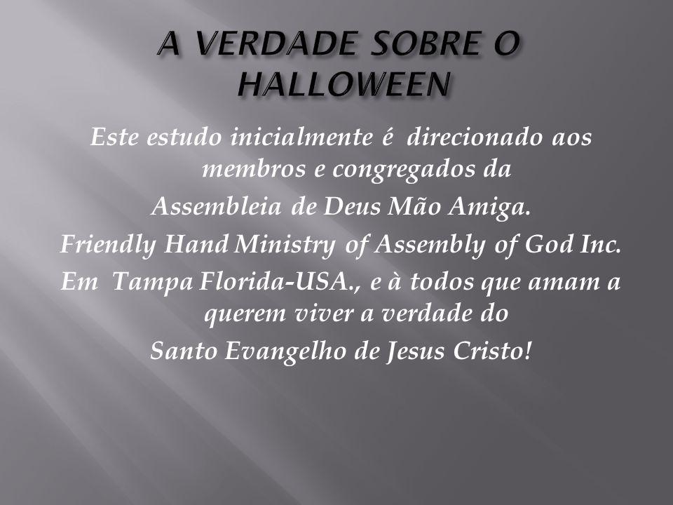 Este estudo inicialmente é direcionado aos membros e congregados da Assembleia de Deus Mão Amiga.