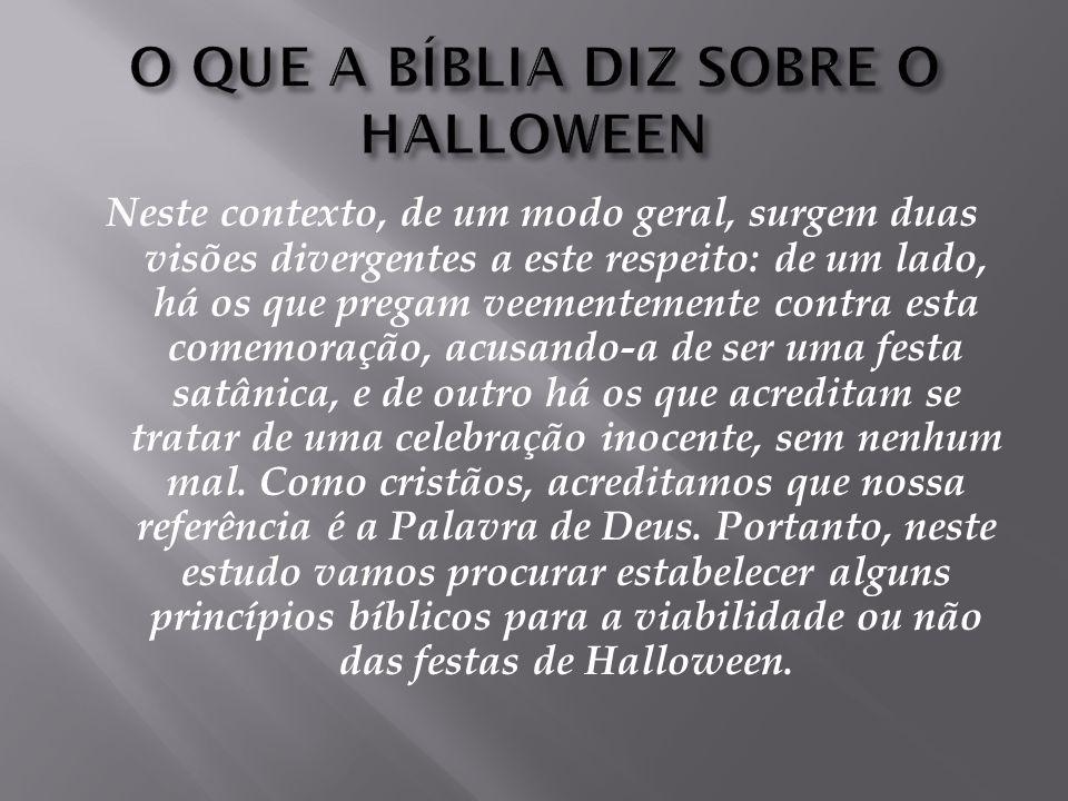 A tentativa de fazer com que o dia 31 de Outubro entre para o nosso calendário no Brasil como Dia das Bruxas está, infelizmente, caminhando a passos largos.