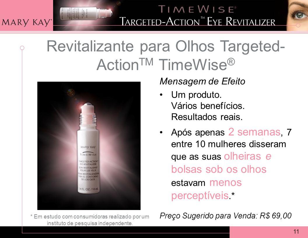 11 Revitalizante para Olhos Targeted- Action TM TimeWise ® Mensagem de Efeito Um produto.