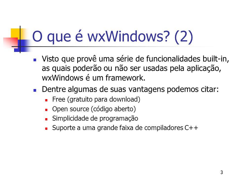 34 wxWindows X Eiffel