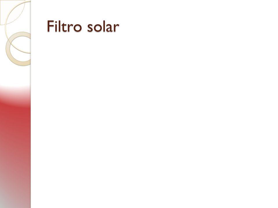 Filtro solar