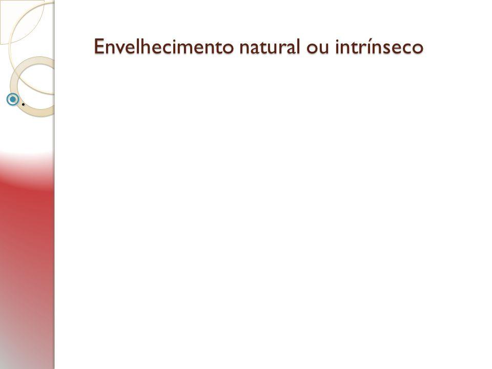 Envelhecimento natural ou intrínseco.
