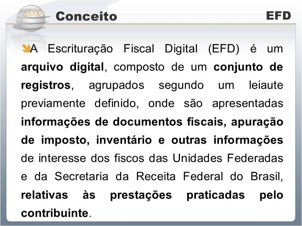 Documentação EFD Ato Cotepe 09/19/30/45 de 2008 e 15/29/38/47 de 2009 Decreto nº 12.680/08 Convênio ICMS nº 143/06 Ajuste SINIEF nº 02/09 Guia Prático EFD Resolução/SEFAZ nº 2.249, de 10/02/2010
