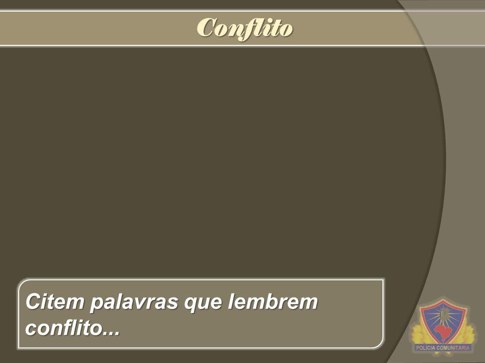 Conflito (latim conflictus, -us) substantivo masculino 1.