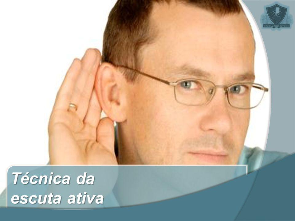 Técnica da escuta ativa