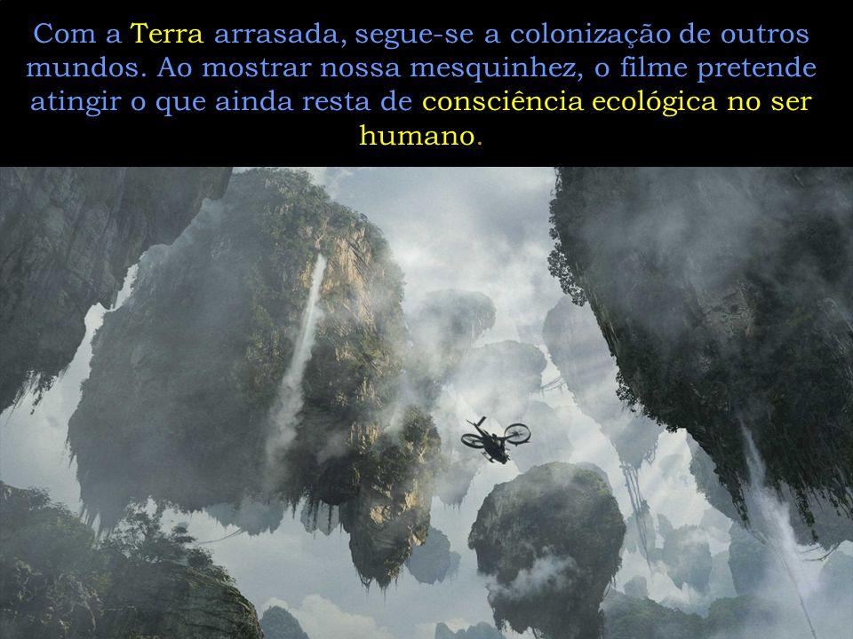 Vemo-nos atirando contra a natureza, só porque debaixo dela se encontra um minério valioso, que, para os humanos, resolveria a crise energética, uma v