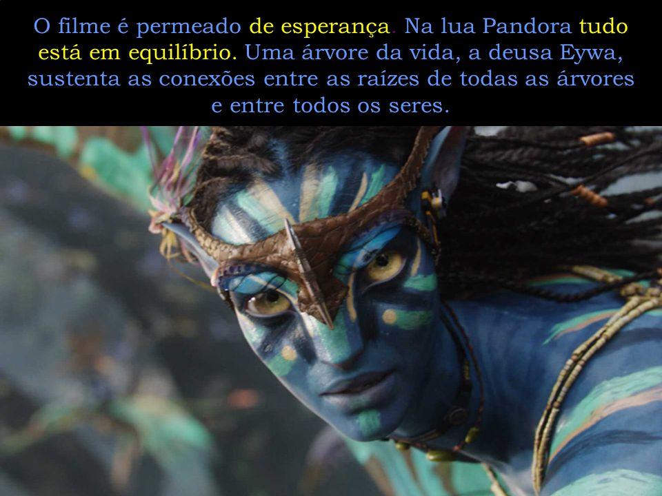 Pandora não cuidou de sua caixa, e nós não estamos cuidando do nosso planeta. Avatar nos adverte: a Terra é nossa caixa de Pandora. Se não soubermos p