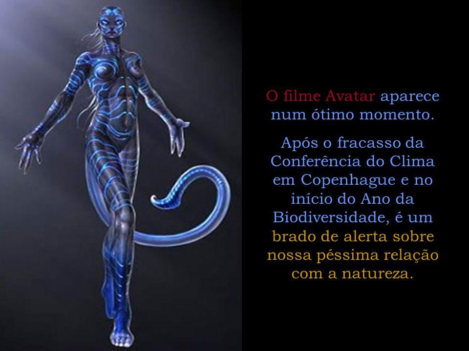 Companheiros é impossível assistir Avatar , e não o relacionar diretamente com vários conhecimentos e ensinamentos da Doutrina Espírita.
