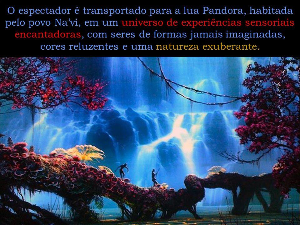 O filme é permeado de esperança.Na lua Pandora tudo está em equilíbrio.