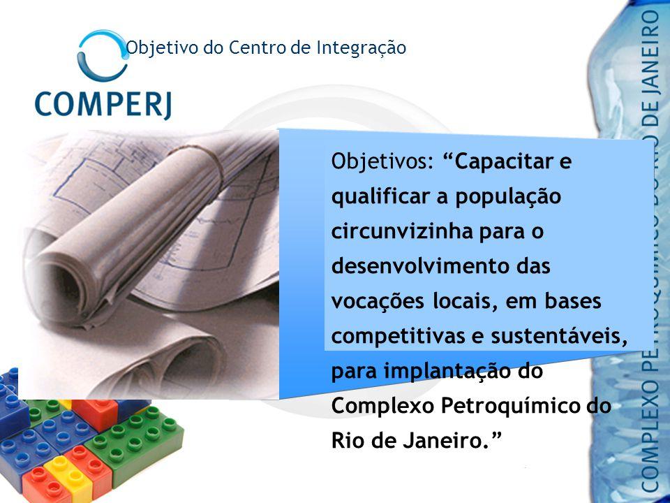 Objetivos: Capacitar e qualificar a população circunvizinha para o desenvolvimento das vocações locais, em bases competitivas e sustentáveis, para imp