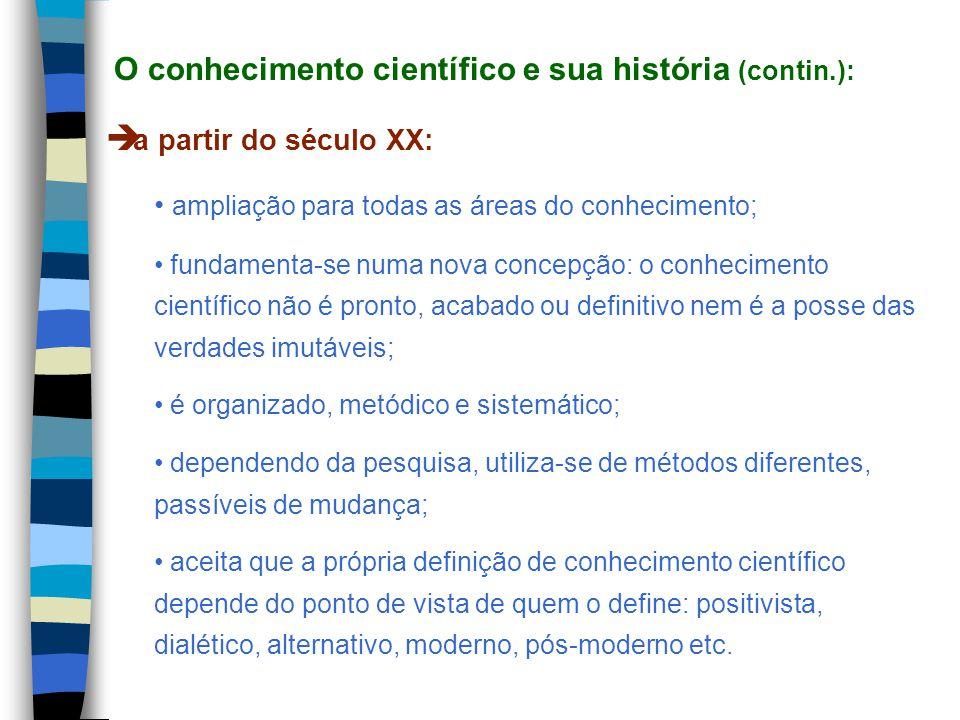 num sentido amplo, ciência diz respeito a qualquer tipo de saber; num sentido científico, ciência é entendida como uma busca constante de explicações e de soluções, de revisão e de reavaliação de seus resultados, apesar de sua falibilidade e de seus limites (CERVO e BERVIAN, 2002); é considerada um conjunto de conhecimentos racionais, certos ou prováveis, obtidos metodicamente, sistematizados e verificáveis que fazem referência a objetos de uma mesma natureza (ANDER- EGG, citado por RAVEN, 2002); a capacidade de questionar e sobretudo de se questionar é a razão de ser mais profunda da ciência.