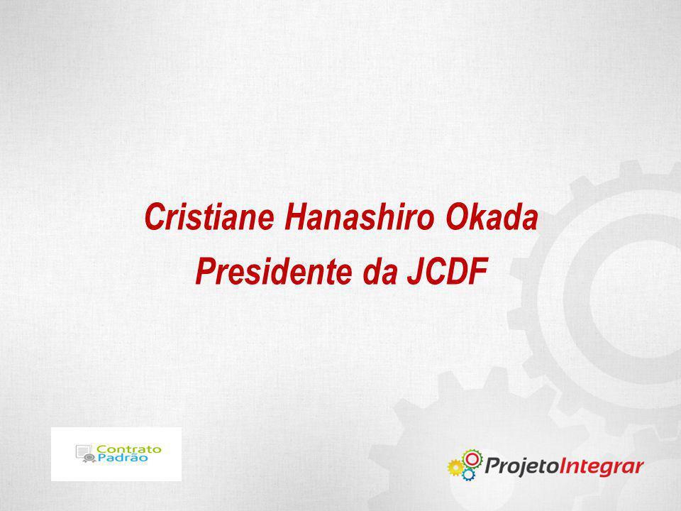 Cristiane Hanashiro Okada Presidente da JCDF