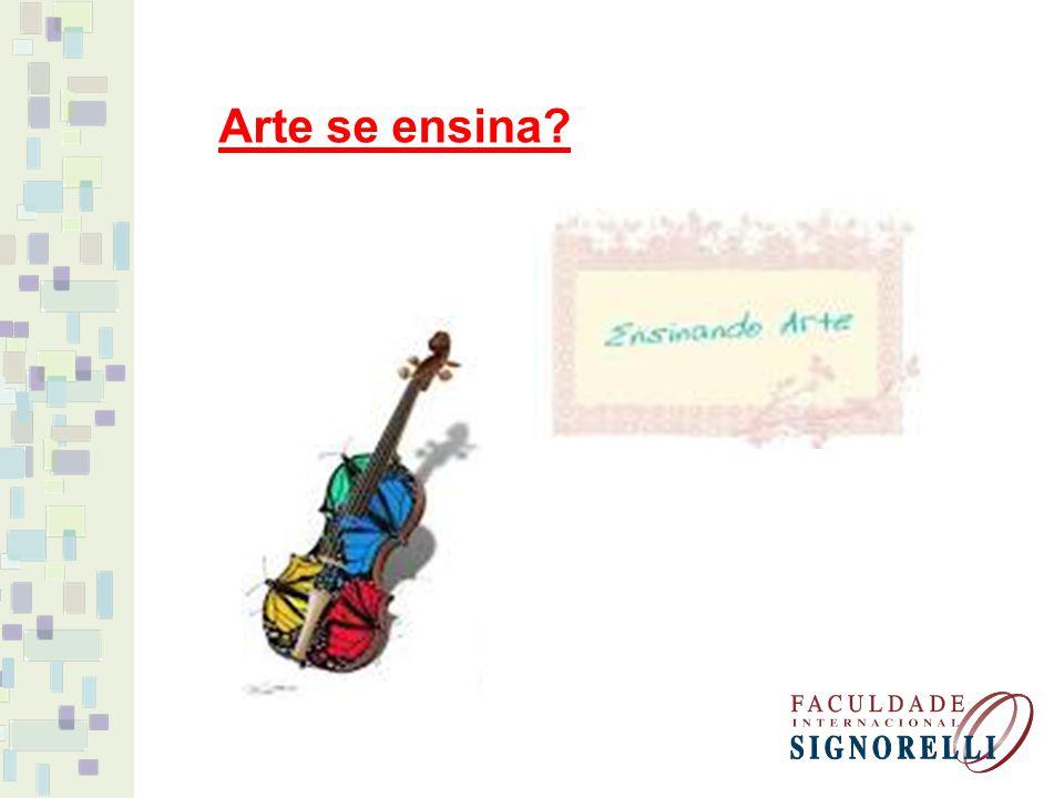 Arte se ensina?