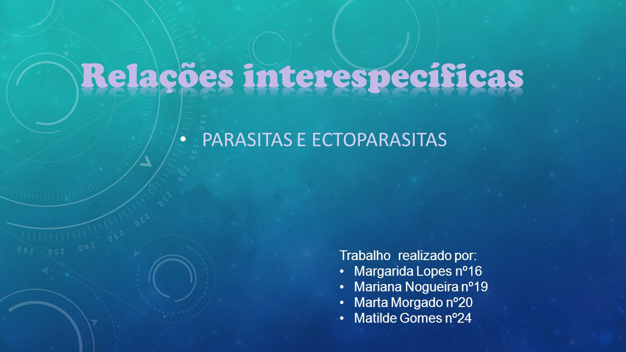 Introdução……………………………………………………………………………………………..3 Parasitas/Hospedeiros…………………………………………………………………………….4 Explicação da relação interespecífica em estudo…………………………………….5 Exemplos/ imagens…………………………………………………………………………………6 Carraça-Boi…………………………………………………………………………………….………7 Pulga-Cão……………………………………………………………………………………………….8 Processionárias-Folhas das Árvores…………......………………………………………..9 Piolho-Ser Humano……………....………………………………………………………….....10 Conclusão………………………………………………………………………………………………11 Bibliografia/Sitografia…………………………………………………………………….……..12