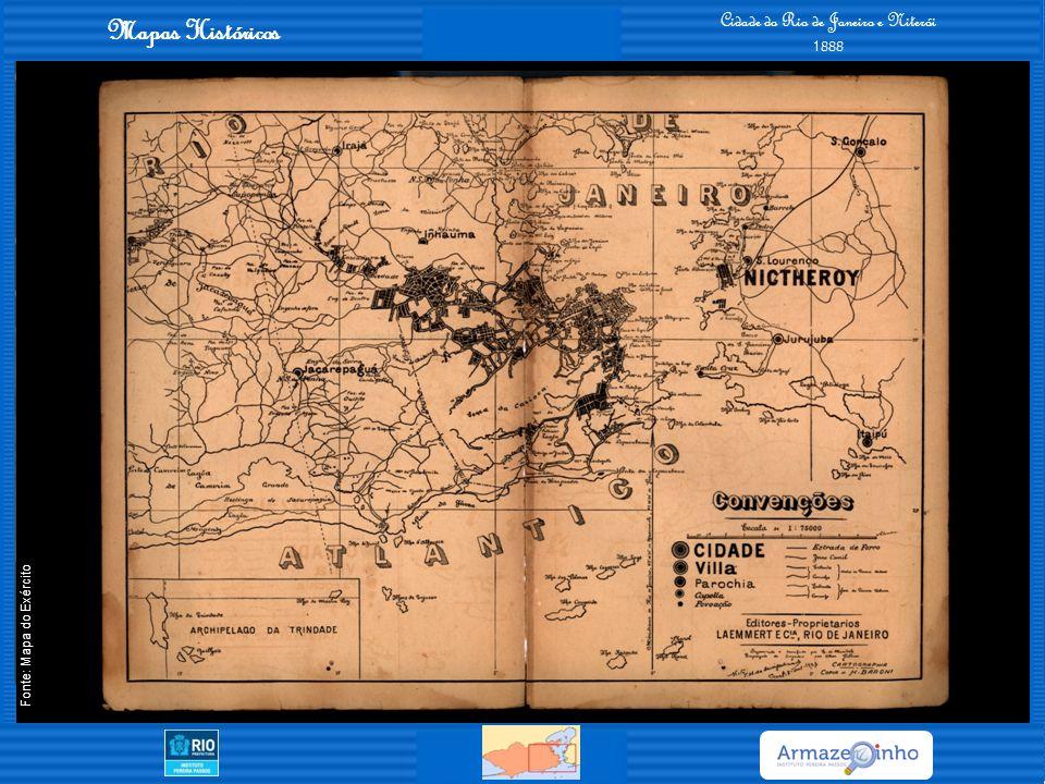 Mapas Históricos Cidade do Rio de Janeiro - Planta dos Melhoramentos Projetados pelo Prefeito DR.