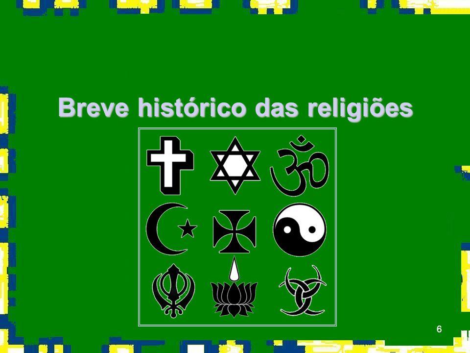 6 Breve histórico das religiões
