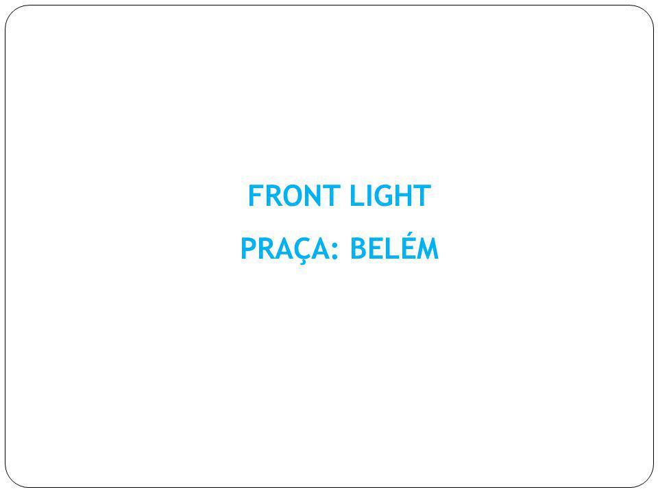 FRONT LIGHT PRAÇA: BELÉM