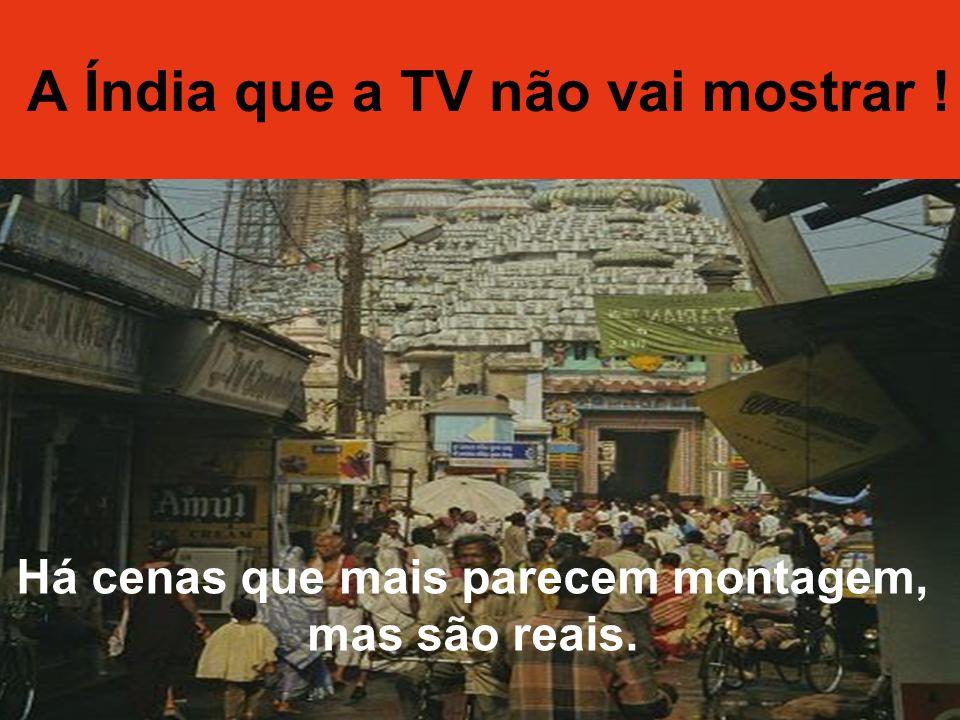 A Índia da TV e a Índia Real
