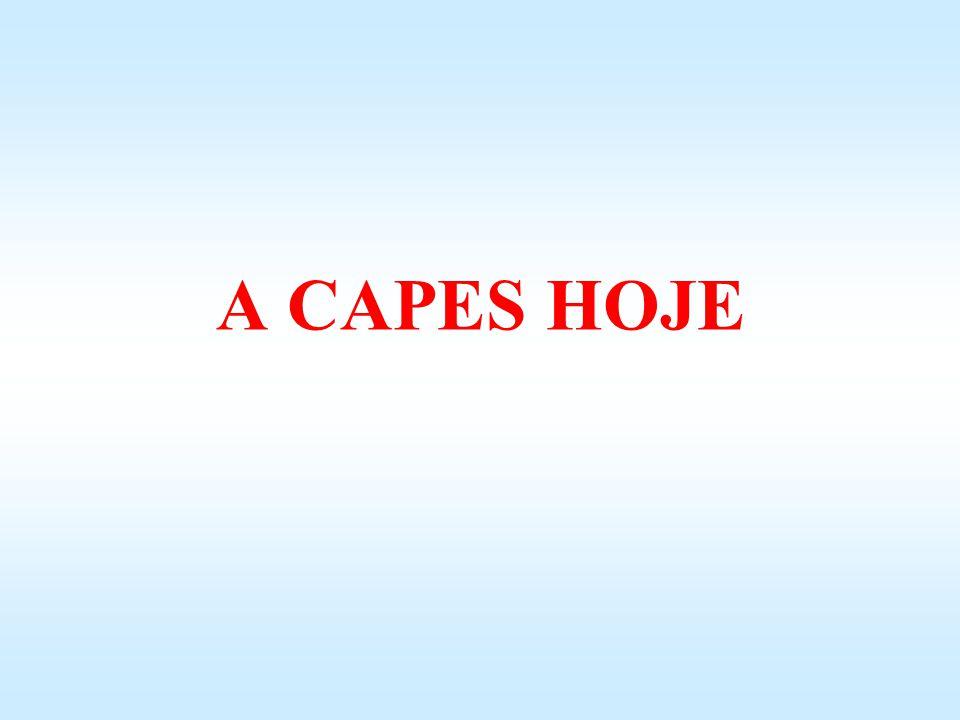 A CAPES HOJE